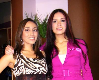 Shery con Karla Calvillo